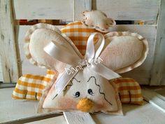 O milho fio Chiara e Gloria Daniela: costura criativa Tenero coelho