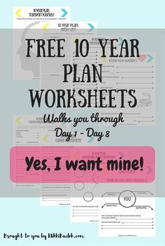 Image Result For Goal Setting Worksheet 5 10 15 Year 10 Year