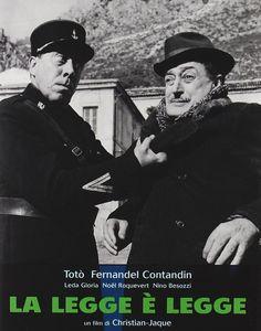 Tutti i giorni lavoro, onestamente, per frodare la legge - Giuseppe La Paglia - La legge è legge - - - - #Totò #Fernandel #Filmdavedere