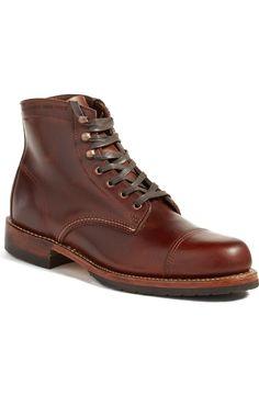 461100aecfc4 Wolverine  Adrian  Cap Toe Mens Boots Mens Winter Boots