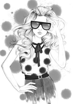 44 Fashion Illustration by Gloria Radio