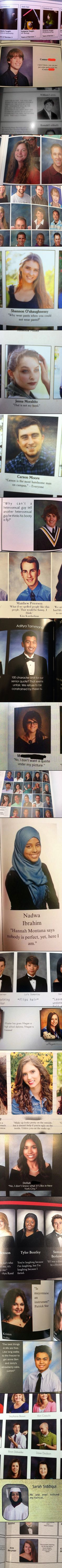 Here are some funny and geeky yearbook quotes, pictures that will make you look twice.