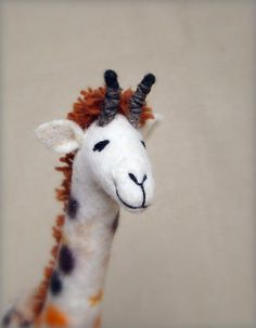 giraffe marionette this artist makes simply wonderful expressions