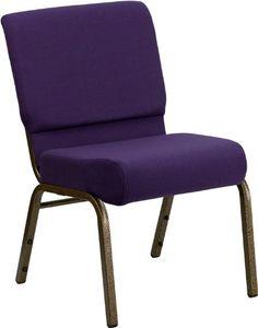 Flash Furniture FD-CH0221-4-GV-ROY-GG Hercules Series 21-Inch Extra Wide Royal Purple Stacking Church Chair with Gold Vein Frame Flash Furniture http://www.amazon.com/dp/B007GUXCNY/ref=cm_sw_r_pi_dp_5EC1tb18XAKCZ3PZ