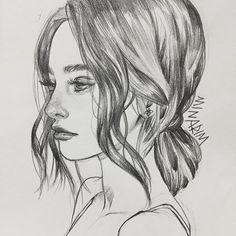 Daily drawing - - - - artist# arte# artwork# figure# p Create Drawing, Guy Drawing, Daily Drawing, Painting & Drawing, Pencil Drawings Of Girls, Mermaid Drawings, Art Drawings Sketches, Amazing Drawings, Amazing Art