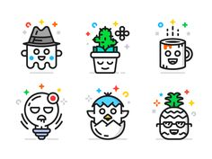 Character Icons (Freebie) by Pavel Kozlov