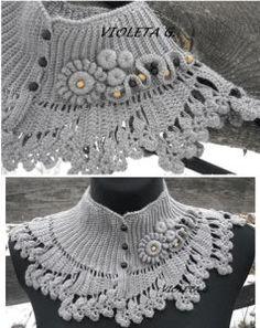 Un châle de dentelle juste pour les épaules | Total Visits 4851 | La Grenouille Tricote