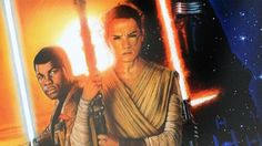 This is the new movie poster for Star Wars: The Force Awakens
