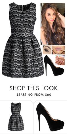 """""""Geen titel #330"""" by bull3tpr00f ❤ liked on Polyvore featuring Chicwish, Giuseppe Zanotti and Anastasia Beverly Hills"""
