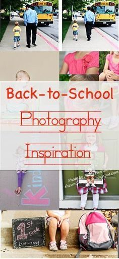Back-to-School Photography Inspiration || Blissfully Domestic