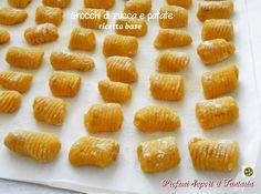 Gnocchi di zucca e patate ricetta base Blog Profumi Sapori & Fantasia