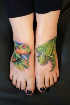 Tattoo by Robert Witczuk « Tattoo Art Project Frog Tattoos, All Tattoos, Tatoos, Skin Candy, Country Scenes, Beautiful Body, Skin Art, True Beauty, I Tattoo