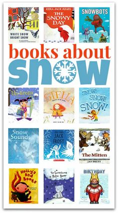 Books about snow!