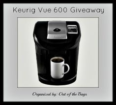 a day in the tangled skeins of my life: Blogger Opp: Keurig Vue 600 Giveaway