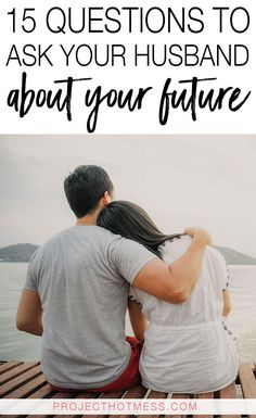 As women, we tend to think about the future a lot. I know I'm not the only one. But it has come to my attention that not all men are the same! Alarming I know! Which is why it's important to talk to your husband about your future because you may not actually be on the same page.