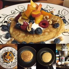 Almond And Coconut Flour Pancakes!