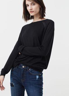 Pullover aus feinstrick - Cardigans und pullover für Damen | MANGO Deutschland