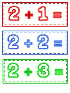 Fluency Flashcards: Math Facts to 5 image 2