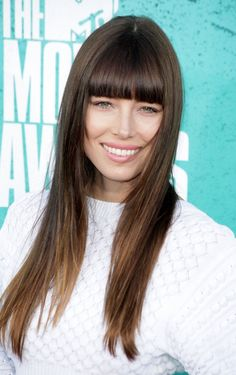 Jessica Biel plays it smooth and straight