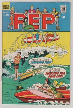 PEP 221, Archie Comic Publications, Inc. https://www.pinterest.com/citygirlpideas/archie-comics/