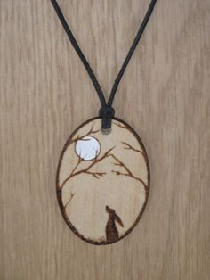 Etsy listing at https://www.etsy.com/listing/234140446/moon-gazing-hare-pendant-necklace-amulet