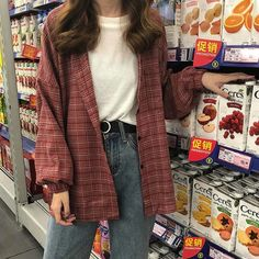 Indie Outfits, Retro Outfits, Tumblr Outfits, Cute Casual Outfits, Fashion Outfits, Indie Clothes, Cute Flannel Outfits, 90s Style Outfits, 90s Inspired Outfits