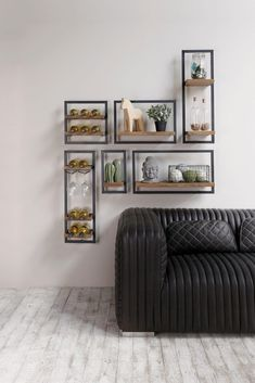 Etagere Design, Living Room Grey, Plant Decor, Home Projects, Floating Shelves, Shelving, House, Wall Decor, Cabinet