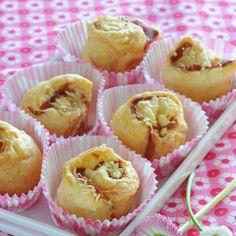 Bouchons feuilletés au jambon cruVoir la recette des bouchons feuilletés au…