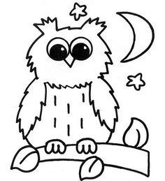 Baykuş boyama sayfası, Owl coloring pages, Página para colorear de búho, Картина сова. Embroidery Monogram, Embroidery Designs, Owl Coloring Pages, Painted Shells, Clip Art, Cute Owl, Digital Stamps, Doodle Art, Painted Rocks