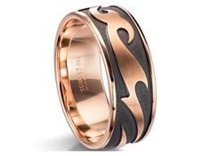 Check out this amazing Furrer Jacot two-tone Men's Band, available in your choice of metals!!