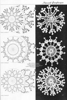 duplet 94 - marlene ladner - Álbuns da web do Picasa Crochet Snowflake Pattern, Crochet Snowflakes, Doily Patterns, Crochet Motif, Irish Crochet, Crochet Doilies, Crochet Patterns, Crochet Tree, Crochet Leaves