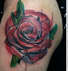 A sketchy tattoo