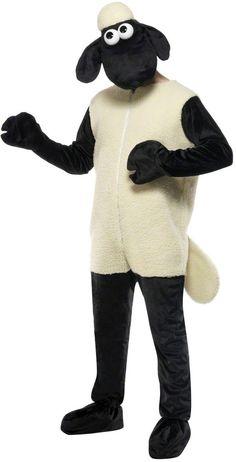 Déguisement Shaun le mouton™  adulte : Ce déguisement de Shaun le mouton™ sous licence officielle est composé d'une combinaison et d'une cagoule représentant la tête du...