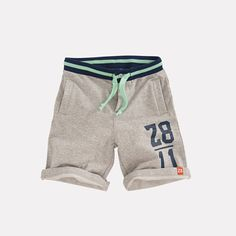 Short Antonio Grijs melee Boys Cargo Shorts, Sport Shorts, Boys Pajamas, Pyjamas, Fashion Pants, Boy Fashion, Short Niña, Streetwear Shorts, Boys Wear