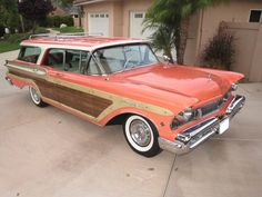 Vintage Cars 1957 Mercury Colony Park Station Wagon - Image 1 of 10 - Vintage Cars, Antique Cars, Station Wagon Cars, Edsel Ford, Woody Wagon, Mercury Cars, American, Automobile, Honda Odyssey