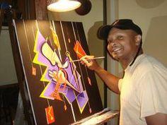 Artist Russ Kidd: www.uglyhands.com   Jazz Artwork   Ugly Hands Productions  