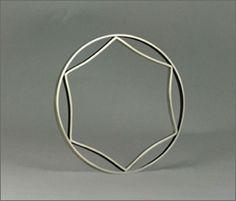 MAYZA JOAO, ARCHITECTONICS VOID BANGLE: 1st period geometry.
