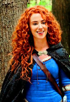 Merida - #OUAT>>>>> I imagine Merida flirting with Hiccup... OR making fun of his small size as a viking compared to scots.
