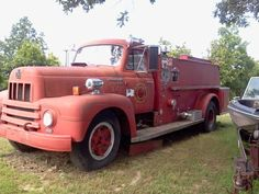 1957 International Fire Truck $1,500.00 | I found this on ZillaCar.com/774828/vehicle-details/?1957+International+Fire+Truck, (A website that searches all other websites for vehicles for sale in the All Locations area.) It was originally listed on Craigslist on 2013-11-09 22:50:02.