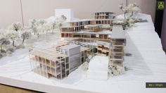 School of Achitecture 2016 Graduation Exhibition Scale Model Architecture, Green Architecture, Architecture Portfolio, School Architecture, Architecture Design, Computer Architecture, Arch Model, Social Housing, Architect House
