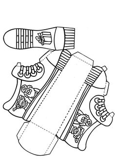 Craft Shoe for Saint Nicholas (without text)                                                                                                                                                                                 More