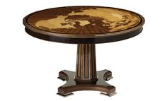 World Map Table - Side Tables - Tables - Furniture - Dering Hall.  Please contact Avondale Design Studio for more information on any of the products we highlight on Pinterest.