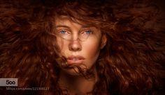 Alex - Pinned by Mak Khalaf dynamic capture of model Alex and her beautiful red hair. If you like my work feel free to follow me on Facebook. :) MyFacebook Fine Art CairnsNikonProfotobeautifulbeautybluecurlsdynamiceyesfacefashionfemaleflowhairlong hairlow-keymodelredred hairskinstudiotexturewild by MickFuhrimann