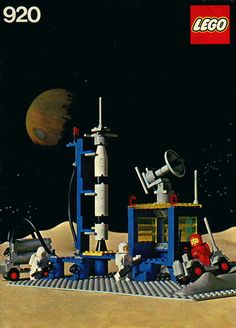 lego space station