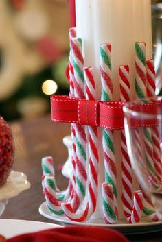 Best Candy Cane Christmas Decoration Ideas — Home Design Ideas - WisataPenida Candy Cane Christmas, Christmas Holidays, Christmas Wreaths, Christmas Gifts, Christmas Ornaments, Christmas Candles, Christmas Ideas, Christmas Projects, Christmas Parties