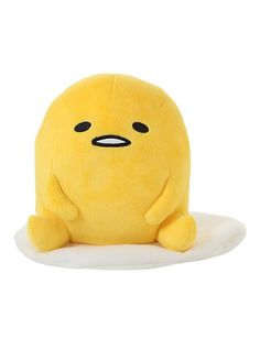 Gudetama Sitting Egg Plush,