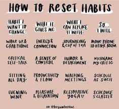 LET'S TALK HABITS, FAM. How do we change habits that are difficult to break? ⠀⠀⠀⠀⠀⠀⠀⠀⠀ Here's my process in four step LET'S TALK HABITS, FAM. How do we change habits that are difficult to break? ⠀⠀⠀⠀⠀⠀⠀⠀⠀ Here's my process in four step Good Habits, Healthy Habits, Healthy Mind, How To Be Healthy, Motivacional Quotes, Habit Quotes, Self Care Activities, Self Talk, Self Improvement Tips