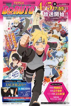 Nueva imagen promocional del Anime Boruto: Naruto Next Generations al aire el 5 de abril.