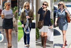 Reese always looks so stinkin' cute!  Her style know how revealed....