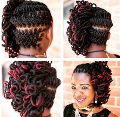 Spring means up-swept hair, intricate details and bold color! You loc-wearers won't be left out of the fun with these 12 loc hairstyles to rock this season!